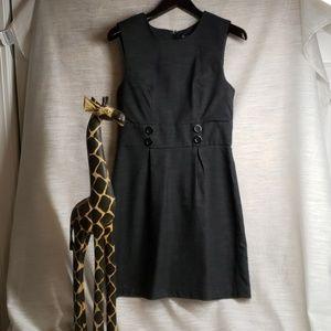 Maurice's dark grey dress size 9/10